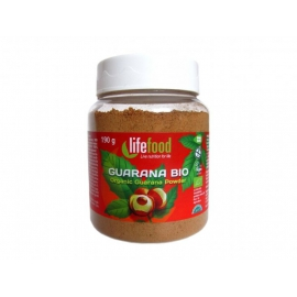 Guarana prášok 180g BIO RAW Lifefood