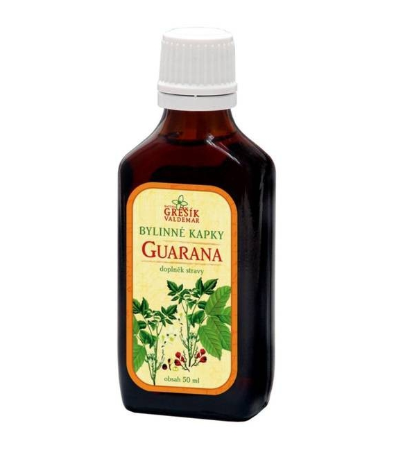 Guarana kvapky 50 ml