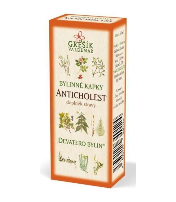 Anticholest kvapky 50ml