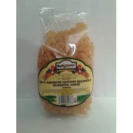 Kukuričné cestoviny bezlepkové, bezvaječné, sušené, kolienka 250g