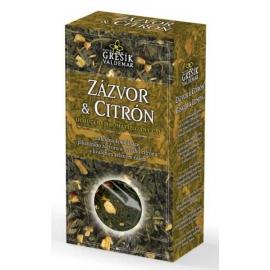 Čaj Zázvor & Citrón 70g krab. Grešík
