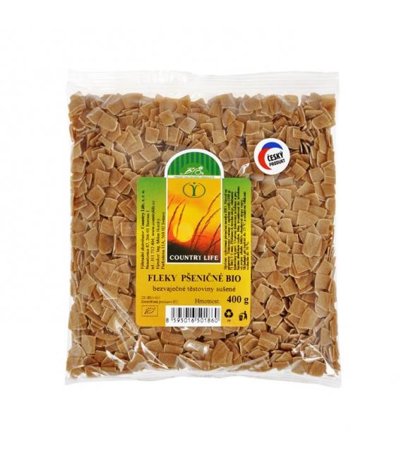 Cestoviny pšeničné fliačky 400g BIO CL
