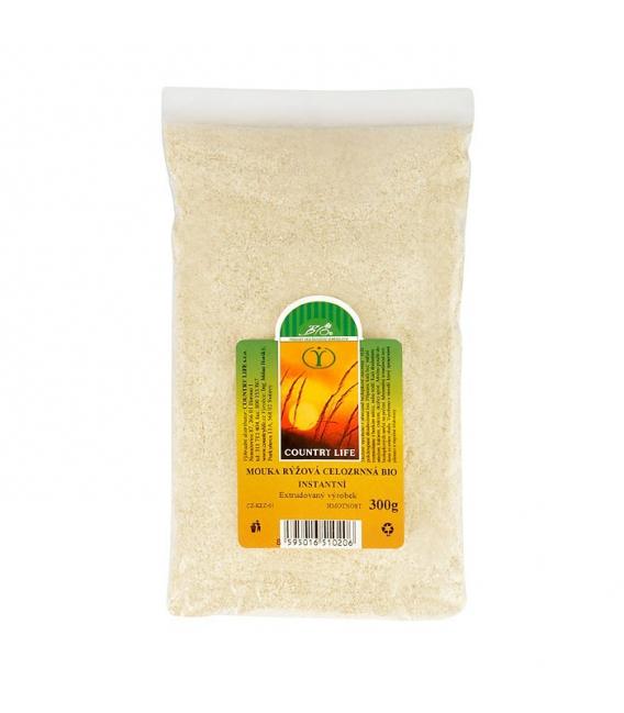 Múka rýžová celozrnná instantná 300 g BIO