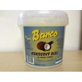 Olej kokosový (vedro) BARCO 1L