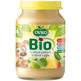 Dojčenská výživa hrušková s jablkami 190g BIO OVKO
