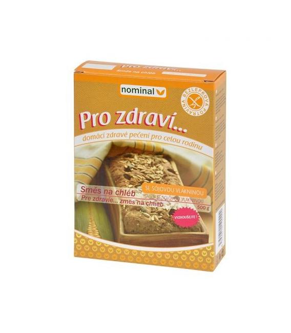 Zmes bezlepková na chlieb so sójovou vlákninou 500g NOMINAL