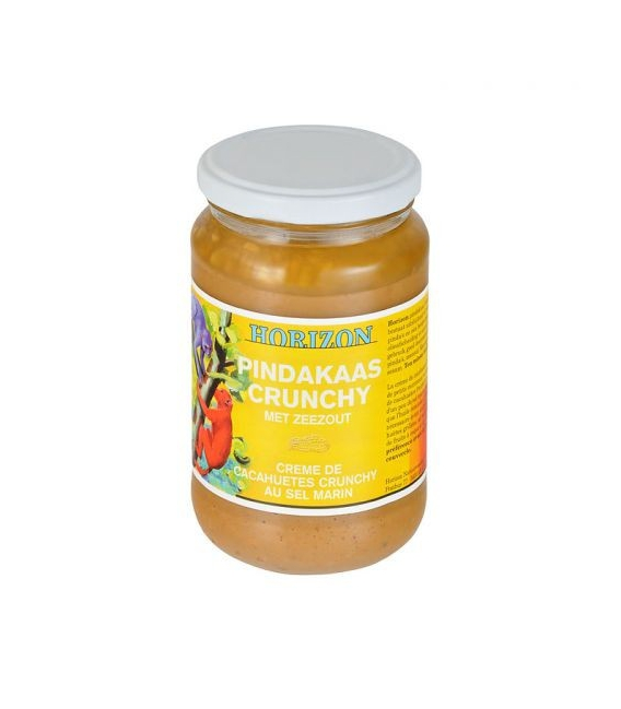 Krém arašidový s kúskami 350g BIO HORIZON