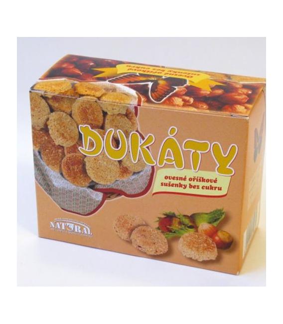 Dukáty sušienky ovsené orieškové 200g NATURAL