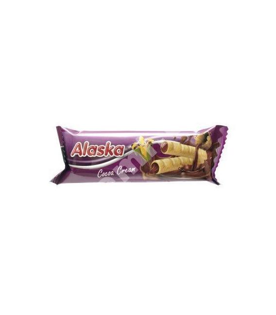 Trubičky kukuričné ALASKA kakaový krém 15g