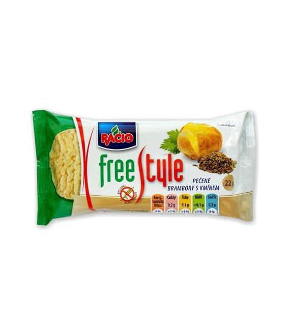 Racio Free style zemiakové chlebíčky s rascou 22g