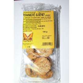 Sušienky pohankové jahodové 150g NATURAL