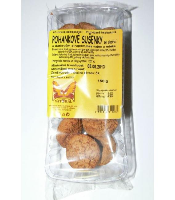 Sušienky pohankové so škoricou 150g NATURAL