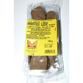 Sušienky celozr.amarant.karobové 150g NATURAL
