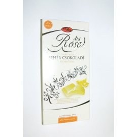 DIA čokoláda biela s fruktózou 100g DIA ROSE