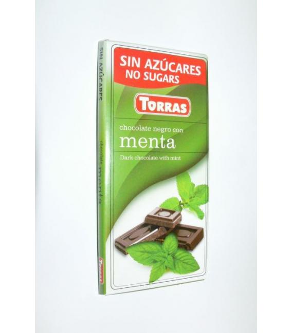 DIA čokoláda horká mäta 75g TORRAS