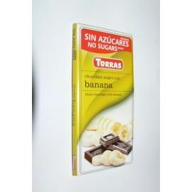DIA čokoláda horká banán 75g TORRAS