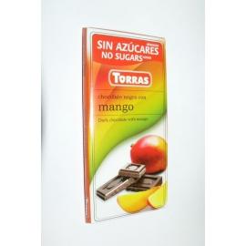 DIA čokoláda horká mango 75g TORRAS
