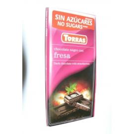 DIA čokoláda horká jahoda 75g TORRAS