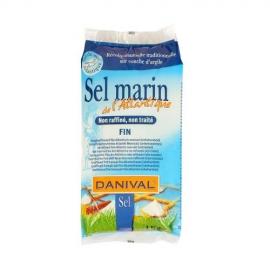 Soľ morská jemná 1kg DANIVAL