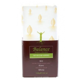 Čokoláda Balance biela s vanilkou 100g bez cukru