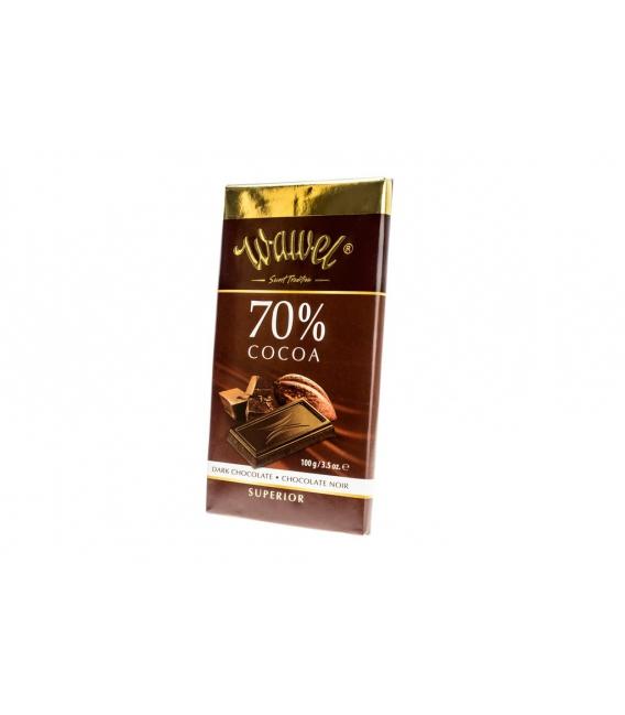 Čokoláda horká DARK 70%  100g Wawel