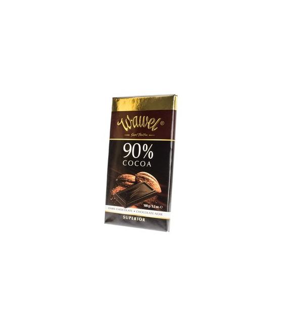 Čokoláda horká DARK 90% 100g Wawel