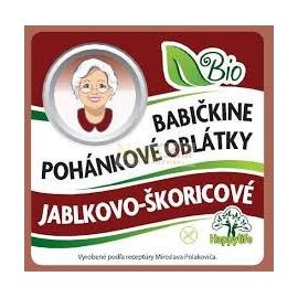 Oblátky Babičkine pohán. jablkovo-škoricov 60g BIO