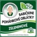 Oblátky Babičkine pohánkové zelenin. 60g BIO