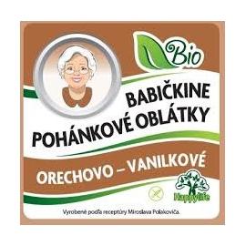 Oblátky Babičkine pohán. orechové-vanilka 60g BIO