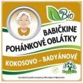 Oblátky Babičkine pohán. kokosovo-badyán 60g BIO