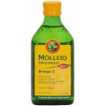 Nórsky rybí tuk NATURAL 250ml Moller´s