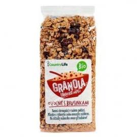 Granola chrumkavé musli ovoc.s brusnicami BIO 350g
