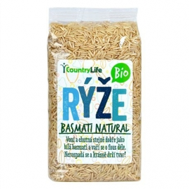 Ryža basmati natural 500g BIO Country Life