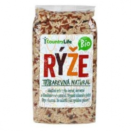 Ryža trojfarebná natural 500g BIO Country Life