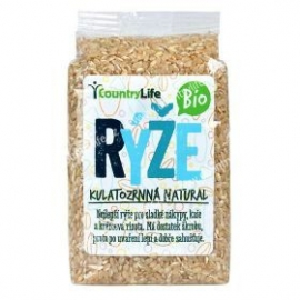 Ryža guľatá natural 500g BIO Country Life