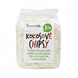 Kokosové chipsy nepražené 150g BIO Country Life