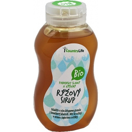 Sirup ryžový 250 ml BIO Country Life