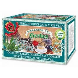 Čaj prečisťujúci s Aloe vera 60g