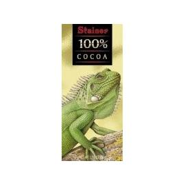 Čokoláda Stainer Animals horká 100% 50g