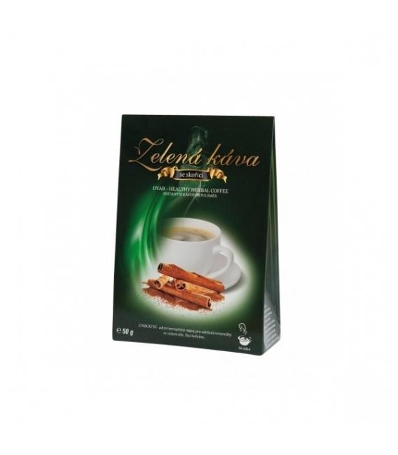 Káva zelená s príchuťou škorice 50 g DNM