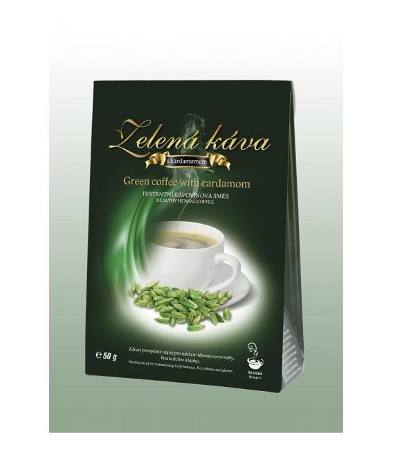 Káva zelená s príchuťou Kardamónu 50g DNM