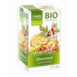 Čaj zázvorový s pomarančom 30g BIO MEDIATE