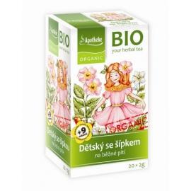Čaj detský ovocný so šípkou 40g BIO MEDIATE
