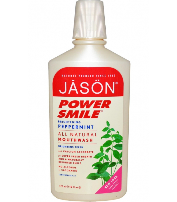 Voda ústna Powersmile 473ml JASON