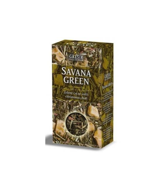 Čaj Savana Green 70g Grešík