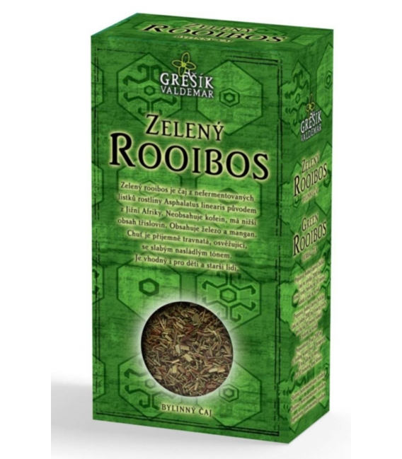 Čaj Rooibos zelený 70g Grešík