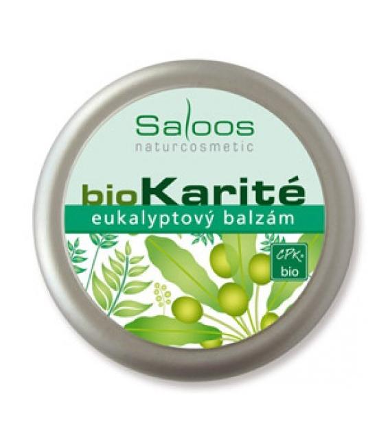 Karité - Eukalypt balzám 19ml Saloos