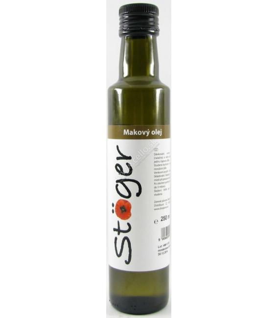 Olej makový 250 ml STOGER