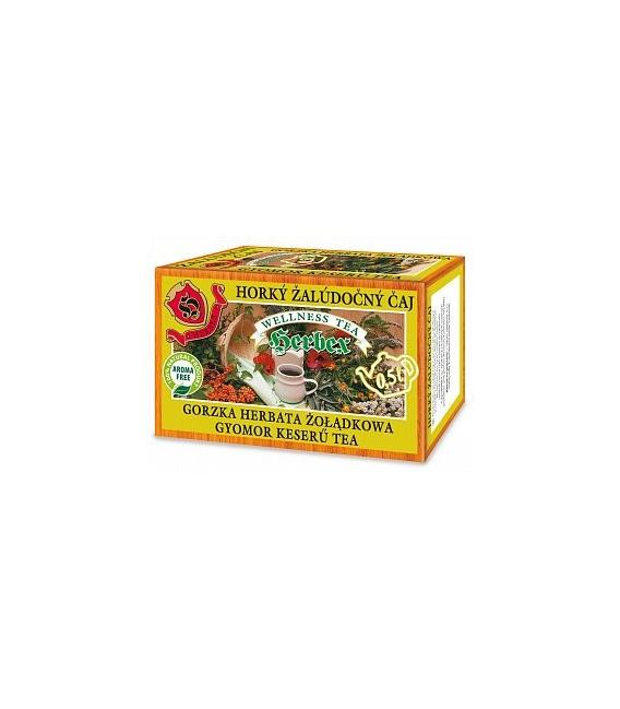 Čaj žalúdočný horký 60g Herbex