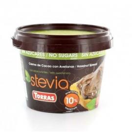 Nátierka lieskovo-oriešková so steviou 200g TORRAS